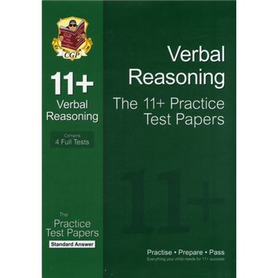 11+ Verbal Reasoning Practice Test Papers: Standard Answers (For Gl & Other Test Providers) (Paperback)