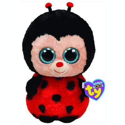 Ty – Beanie Boos – Bugsy la Coccinelle – Peluche 14 cm