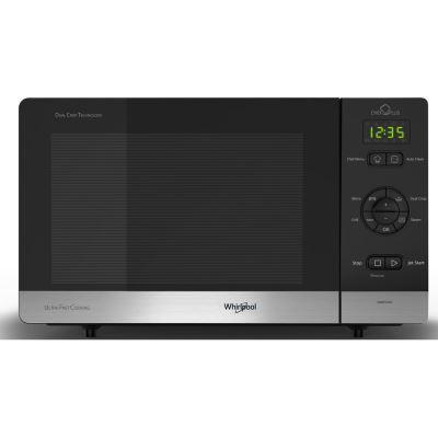 Micro-ondes et gril à posable Whirlpool CMCP34R6 BL Chef Plus 700 W Noir et Argent