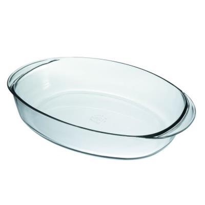 Lot 3 plats ovales ovenchef 33 38 41 cm transparent 589084