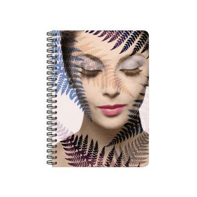 Les Cakes de Bertrand - Cahier à Spirales A5 - 148 pages - Portrait Femme