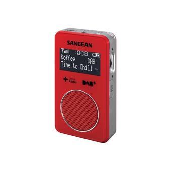 sangean dpr 34 plus radio portative dab baladeur radio. Black Bedroom Furniture Sets. Home Design Ideas