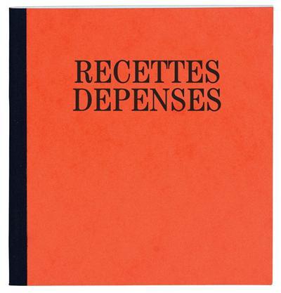 Recettes-Dépenses Exacompta 32x19,5cm piqûre 80p