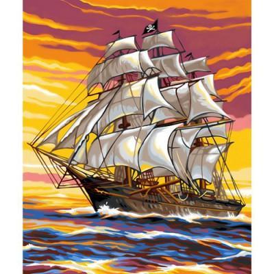 Oz International - Peinture au numéro - Débutants : Le bateau pirate