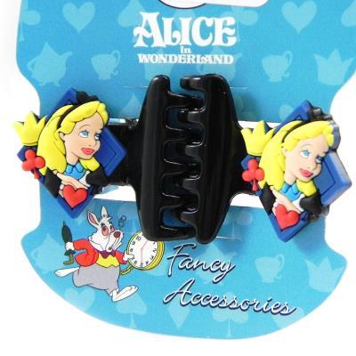 Paire de pinces 'Alice au Pays des Merveilles' noir