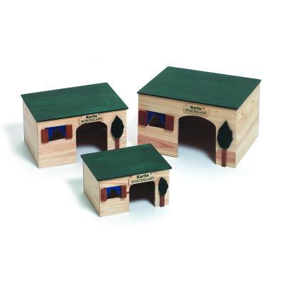 Maison pour rongeurs house <strong>ecco</strong> longueur 26 cm largeur 19 cm hauteur 15 cm