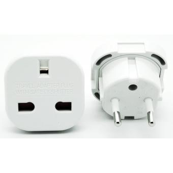 cabling adaptateur prise anglaise femelle vers prise francaise m le adaptateur et. Black Bedroom Furniture Sets. Home Design Ideas