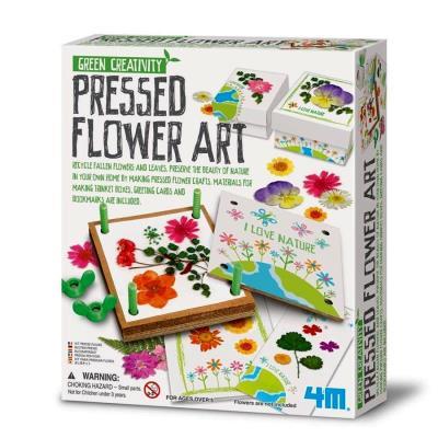 Kit presse fleurs pour herbier 4M loisirs créatifs enfants filles 5 ans +