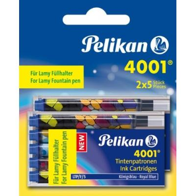 Pelikan cartouches dencre pour stylo lamy, bleu royal 338285