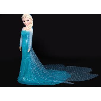 Robe d guisement elsa adulte la reine des neiges d guisement adulte achat prix fnac - Robe reine des glaces ...