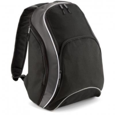 Sac à dos loisirs 21L - Teamwear Bacpack - BG571 - noir graphite blanc