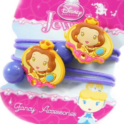 Paire d'élastiques 'Princess Jewels' lavande