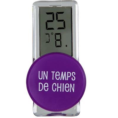 Thermomètre Digital d'extérieur - Violet