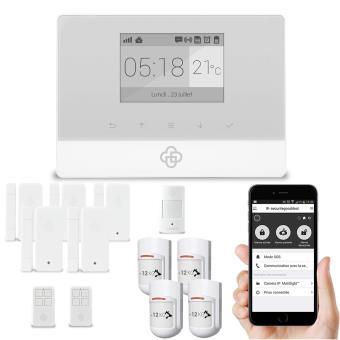 kit alarme maison sans fil gsm appure achat prix fnac. Black Bedroom Furniture Sets. Home Design Ideas