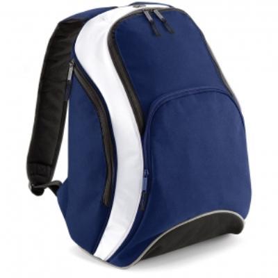 Sac à dos loisirs 21L - Teamwear Bacpack - BG571 - bleu marine blanc
