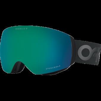 Masque de ski Oakley Flight Deck™ XM PRIZM™ Noir mat et verte Taille unique e86b87d423fd