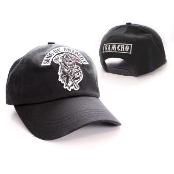 site réputé 486be 55a94 Sons of Anarchy - Casquette baseball Dead Logo black
