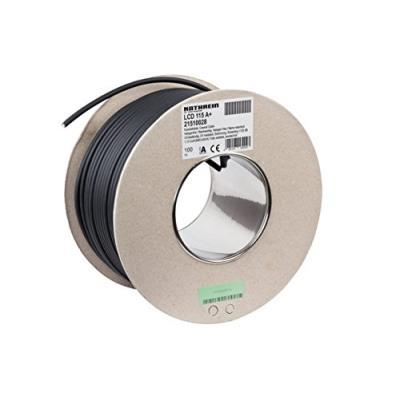 Kathrein LCD 115 A+. Longueur de câble 100 m, Couleur Noir, Impédance 75 Ohm. Poids 5,1 kgCaractéristiques  - Longueur de câble 100 m - Couleur Noir - Impédance 75 Ohm - Matériau conducteur Cuivre - Température dopération -25 - 75 °C - Poids 5,1 kg