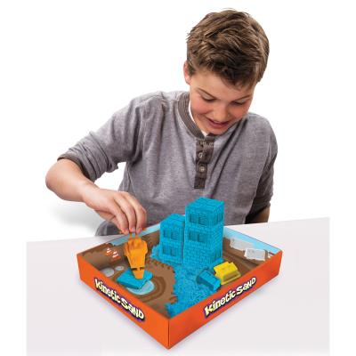 Moulage Kinetic Sand : Coffret de chantier Spin Master