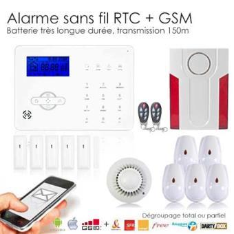 alarme maison sans fil revolution xxl