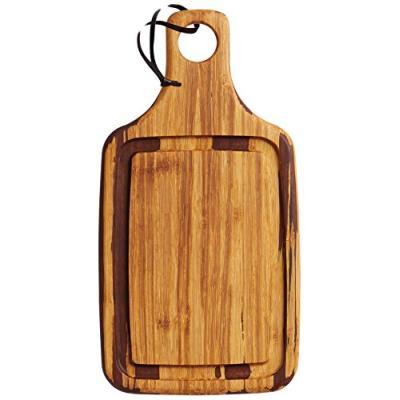 Kitchen craft petite planche à découper rectangulaire en bambou