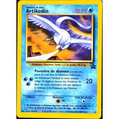 Carte Pokémon 22 Artikodin 70 Pv Ultra Rare Scellee Promo Neuf Fr