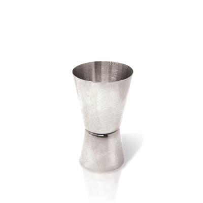 Vinbouquet - mesureur double à cocktail en acier 40/20 ml