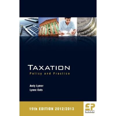 Taxation: Policy and Practice 2012/13 - [Livre en VO]