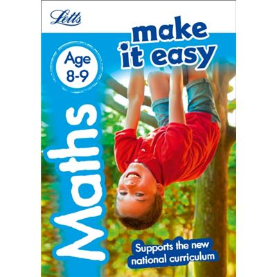 Maths Age 8-9: New Edition (Letts Make It Easy - New Curriculum) (Paperback)