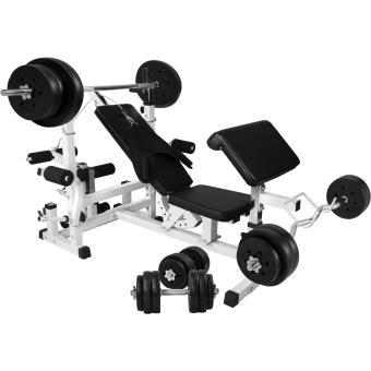 1990 Sur Gorilla Sports Banc De Musculation Universel Gs005 Set