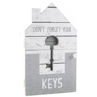Boite À Clés Murale boite armoire à clés murale - rangement des clefs - bois - maison