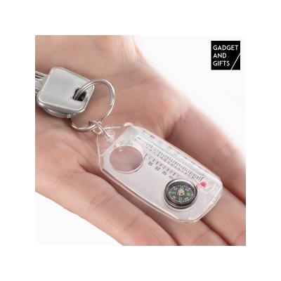 Porte clés Boussole Loupe et Thermomètre Gadget and Gifts