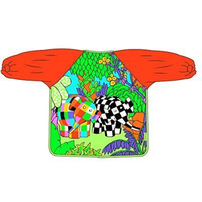 Elmer bavoir à manches toile cirée multicolore