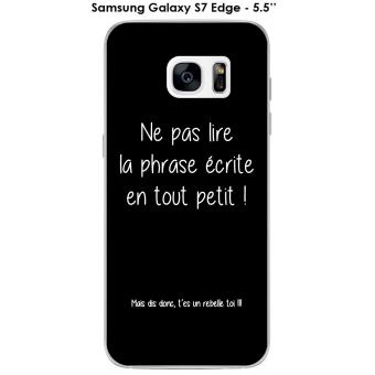 coque samsung galaxy s7 edge humour