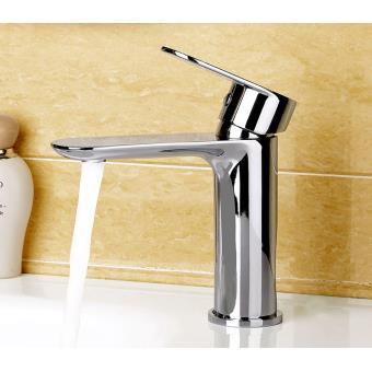 Mitigeur de lavabo chromé, robinet mitigeur salle de bain design en ...