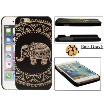 coque iphone 6 bois elephant