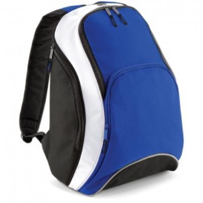 Sac à dos loisirs 21L - Teamwear Bacpack - BG571 - bleu roi noir blanc