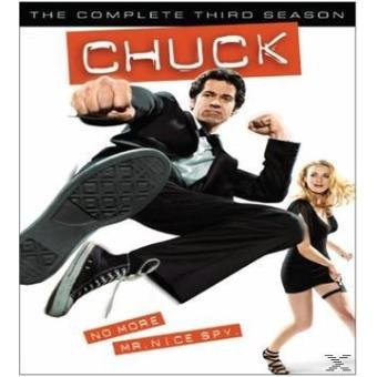CHUCK SEASON 3 (3DVD) (IMP)