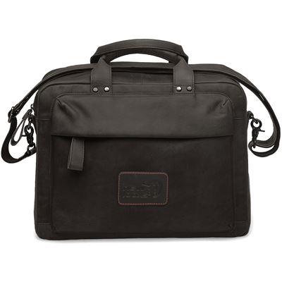Sac bandoulière / sac à bandoulière en cuir NEW LOOXS Orlando - Marron - 18 litres
