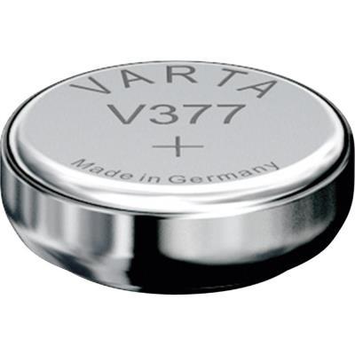 Varta 1 Pile Oxyde Argent V377 Sr626sw Sr66 377 155v