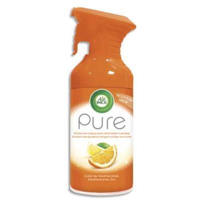 Désodorisant d'atmosphère Pure 250 ml formule sans eau parfum concentré soleil de méditérranée
