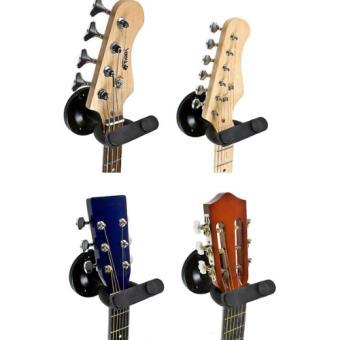 Tiger Gst42 Bk Support Mural Pour Guitare Noir