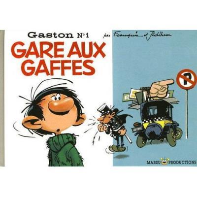 Gare aux gaffes Franquin Et Jidéhem