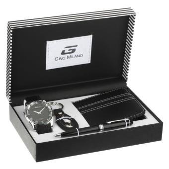 gino milano coffret montre homme montre homme achat prix fnac. Black Bedroom Furniture Sets. Home Design Ideas