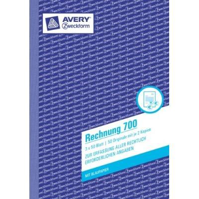 Zweckform rechnung 700 avery