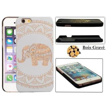 coque iphone 6 bois elephant