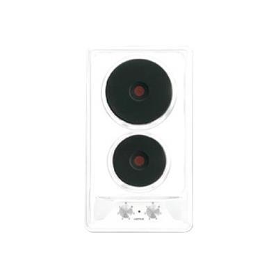 Airlux AT320WH - Table de cuisson électrique - 2 plaques de cuisson - Niche - largeur : 25.5 cm - profondeur : 48 cm - blanc