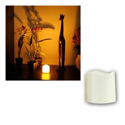 star bougie en plastique à led lumière vacillante minuteur fonctionne à piles, led couleur ambre 7,5 cm x 7,5 cm