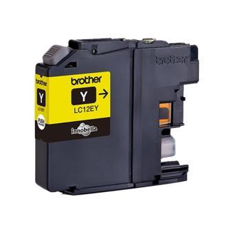 Brother LC12EY - XL Capacity - geel - origineel - inktcartridge