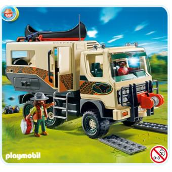 4839 playmobil camion des aventuriers playmobil achat prix fnac. Black Bedroom Furniture Sets. Home Design Ideas